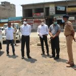 Collector sir Visited Contentment Area