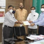 Donation Given to PM and CM Relief Fund