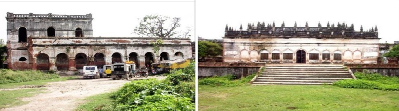 Manjha Fort and GopalTemple