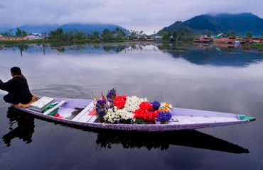 Florist in Dal Lake Srinagar