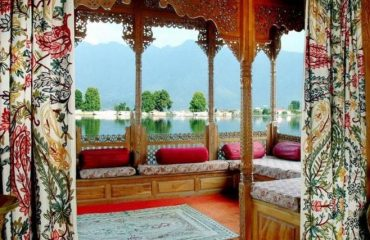 View of Nigeen Lake from Inside Houseboat