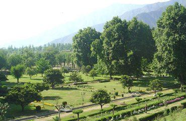 Harwan Garden Srinagar