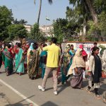 March for Flood Safety Week Begusarai