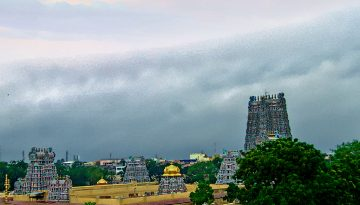 Meenakshi Temple Towers