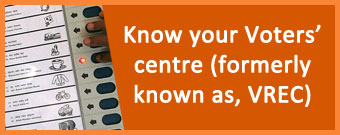 Know your voter centre