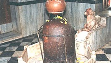 Shivling in Devkali Temple