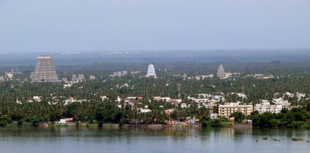 Srirangam-Cauvery RiverView