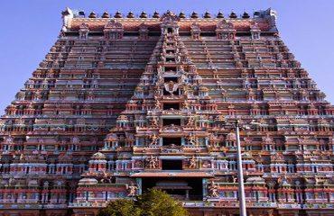 Srirangam Rajagopuram Front View