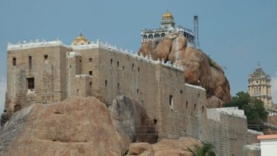 RockFort Temple East View