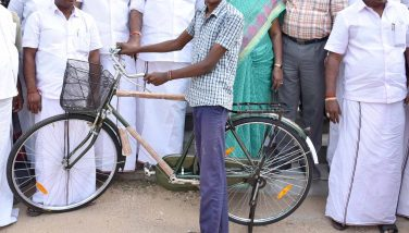 Priceless Bicycles Distributed by -Hon'ble Ministers