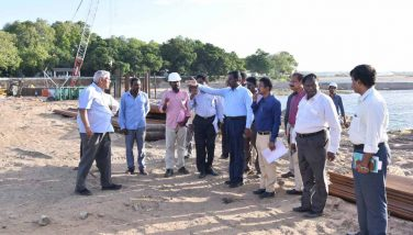 Mukkombu Renewal work Inspected by PWD Adl. Secretary