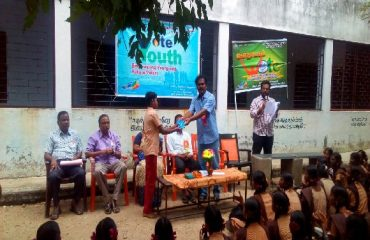 Prize Distribution on Voters Day