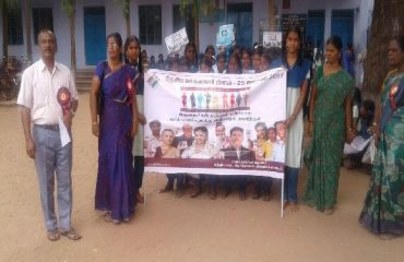 Students Rally on Voters Day
