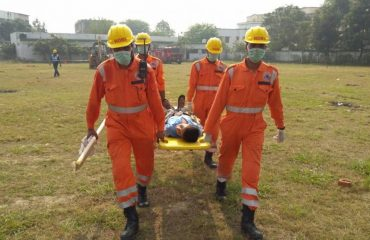 Earthquake Mock Drill Exercise