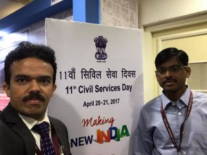 District Magistrate at Civil Service Day celebrations