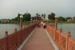 Pathway to the temple.