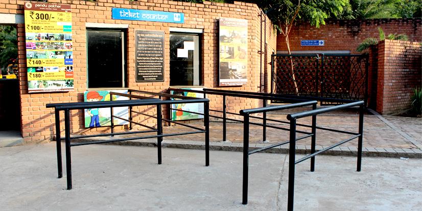 Ticket counter of Pandu Pokhar.