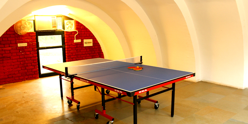 Table for playing Table Tennis.