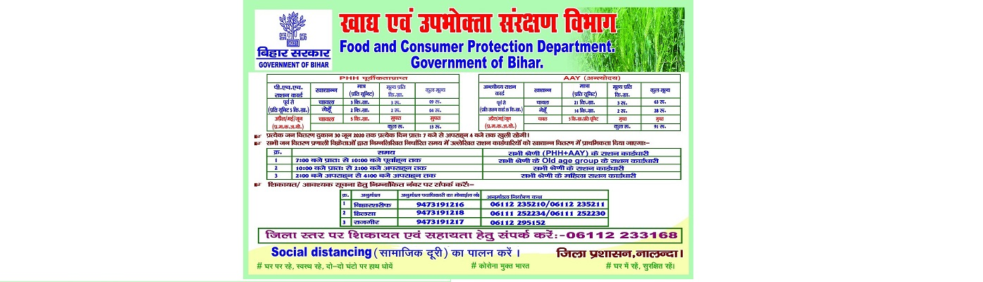 Food Consumer Protection Department