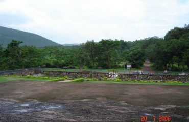 Surroundings of Sone Bhandar Caves