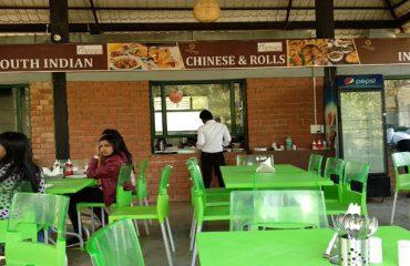 A multi-cuisine restaurant in the premises of Pandu Pokhar