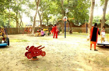 Childrens Park in the premises