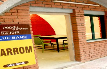Room for Carrom in the premises