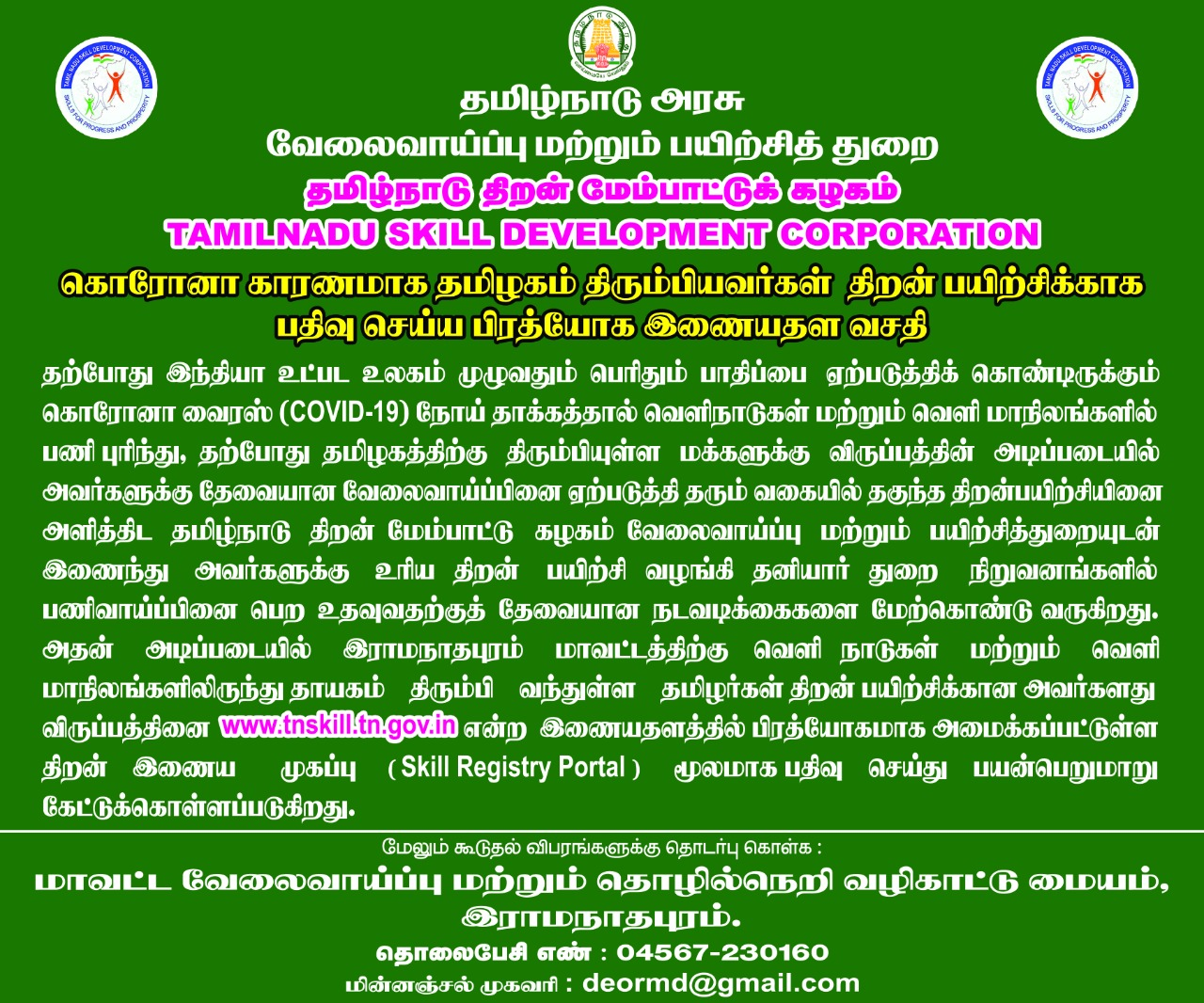 Ramanathapuram District Tamil Nadu Land Of Divinity India