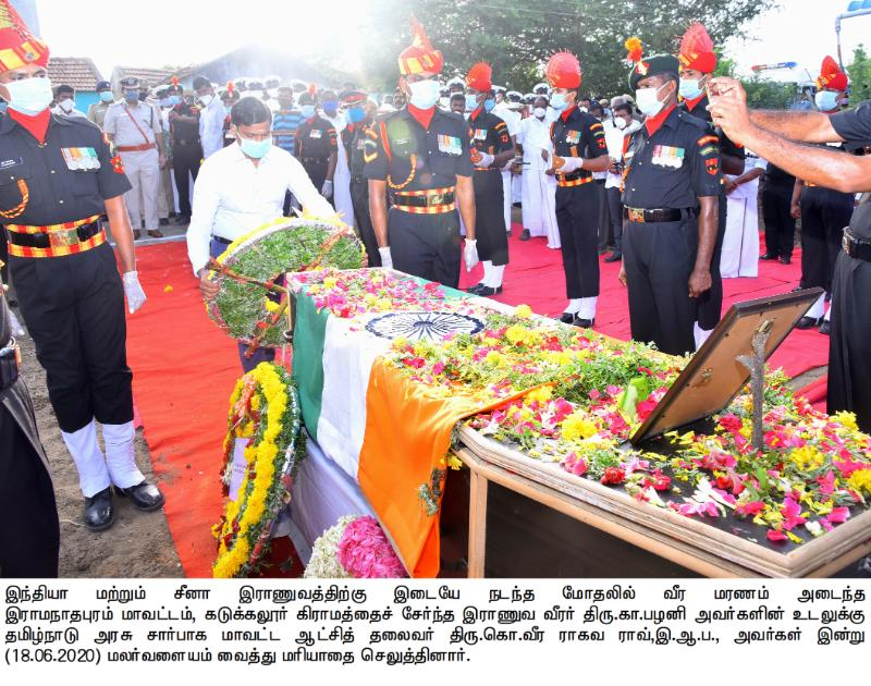 COLLECTOR_PAYS HOMAGE_MARTYR ARMY SOLDIER_18/06/2020