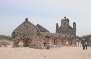 Dhanushkodi Church