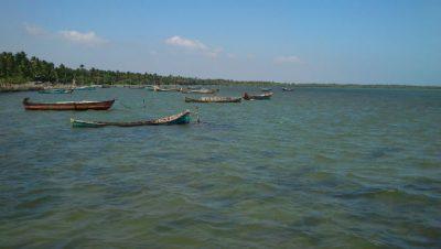 Devipattinam-Fishing boats