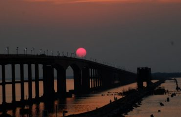 Sunrise - Pamban bridge