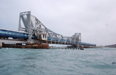 Pamban - Scissor bridge