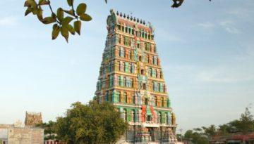 Thiru Uthirakosamangai temple -Tower view