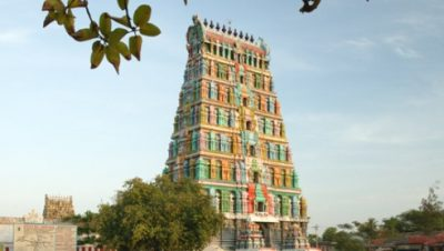 Thiru Uthirakosamangai temple -Tower view