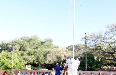 Flag_Hoisted by District Collector on Republic Day 2020
