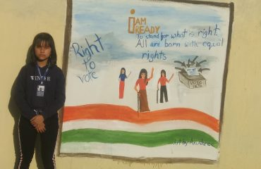 District level painting competition held on 2nd March 2019