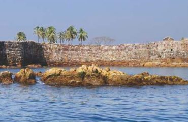Sindhudurg Fort in Sea
