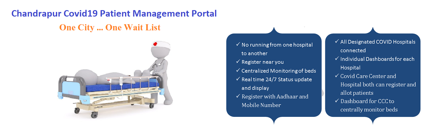 Chandrapur Covid-19 Patient Management Portal