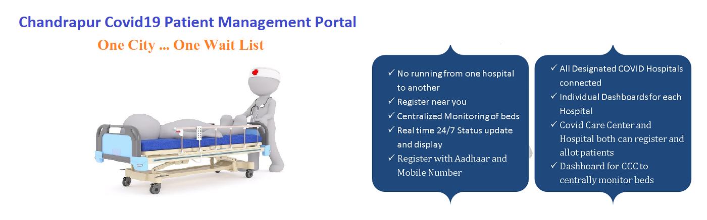 Chandrapur Covid-19 Patient Management Portal