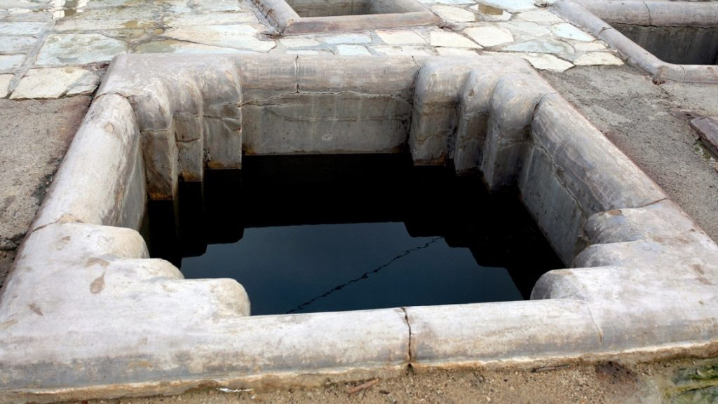 ગરમ પાણીના કુંડ