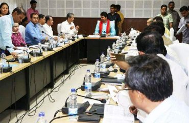 District Development meeting at Conference Hall