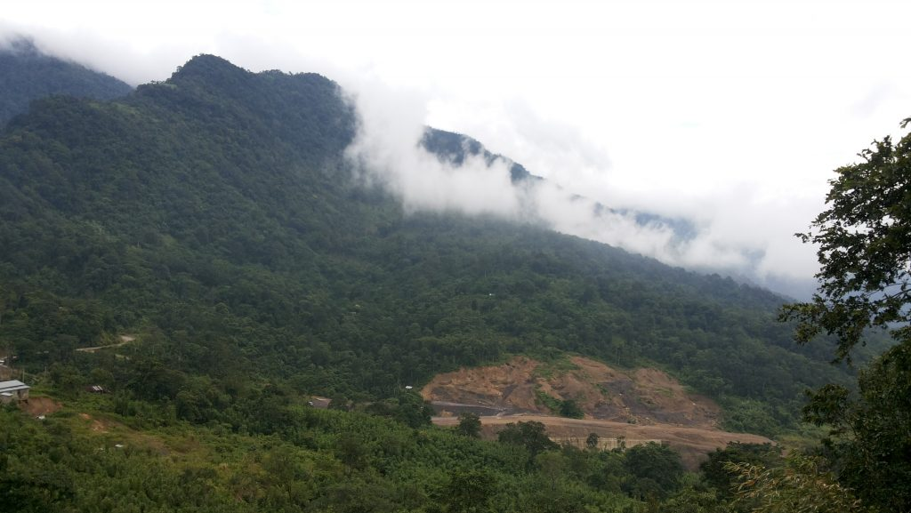 View from Jampui