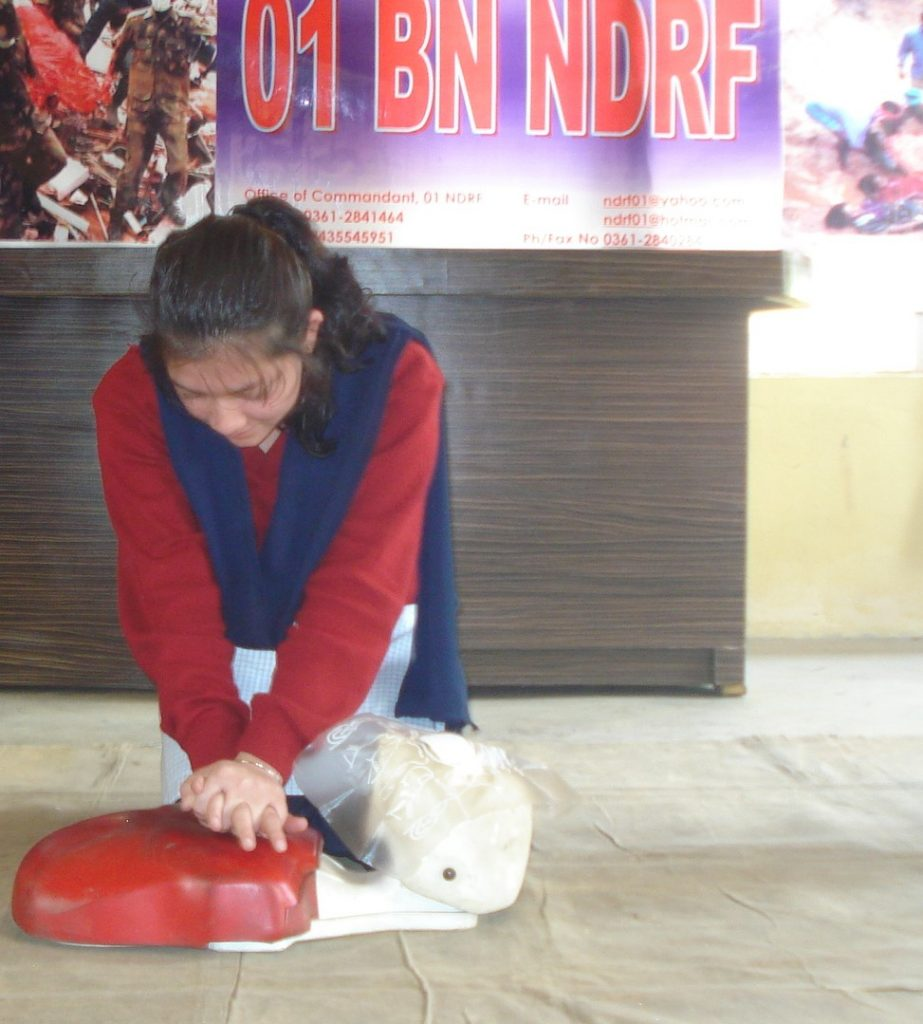 Training on CPR, DDMA