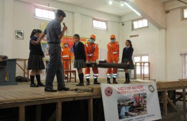 Awareness Programme by NDRF, DDMA