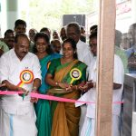 Minister P. Thilothaman inaugurating the new buliding of Kadakkarappally panchayath 2020