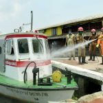 Mock drill conducted in Nehru trophy finishing point 2020