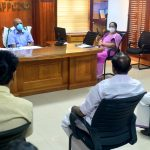District Collector conducted a meeting with Political party leaders 2020
