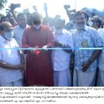 Minister T. M. Thomas Isaac opening the Alappuzha byepass for peoples 2021