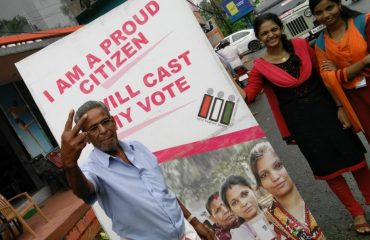 Poll day promotion snaps